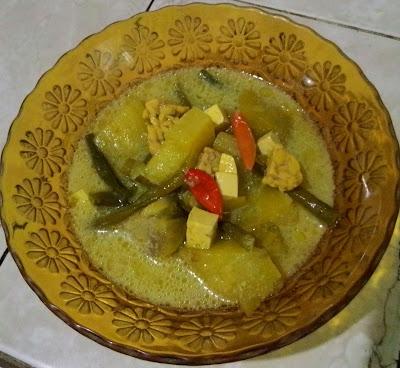 sayur nangka dan sayur lodeh