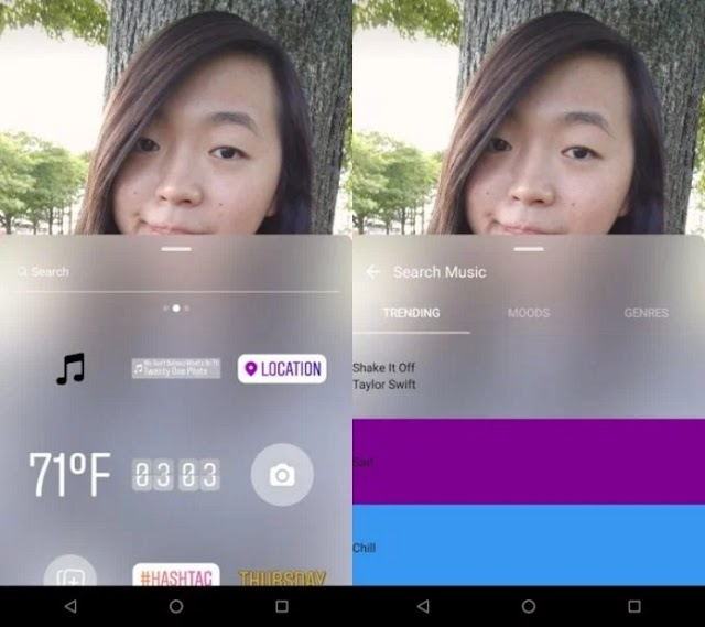 Music Stickers Coming to Instagram Stories