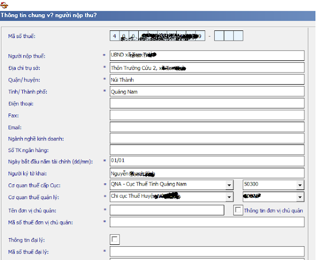 Hướng dẫn nộp tờ khai phí lệ phí điện tử nhantokhai.gdt.gov.vn