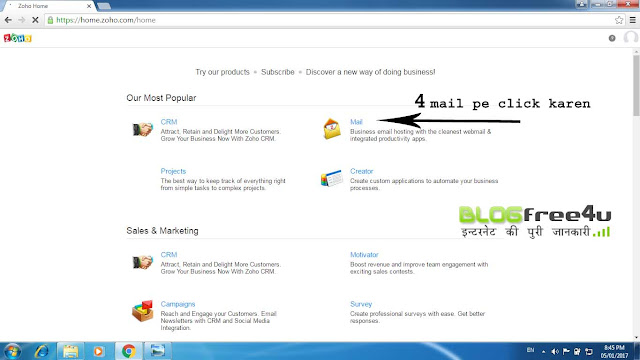 zoho mail, zoho free email , create email id , how to setup zoho email , how to setup zoho email in ms outlook , how to setup microsoft outlook email , microsoft email setup , how to configure free zoho email , how make free professional email , make free professional email , zoho mail id create , how to create zoho pro email , how to create free professional email
