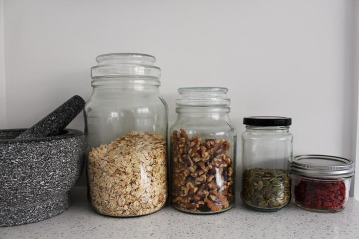Breakfast jars