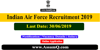 AFCAT 02/2020 Indian Air Force Online Form 2019 | Apply for 242 Posts @afcat.cdac.in