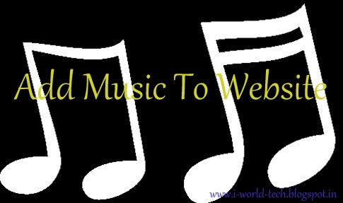 how to add music file to webpage