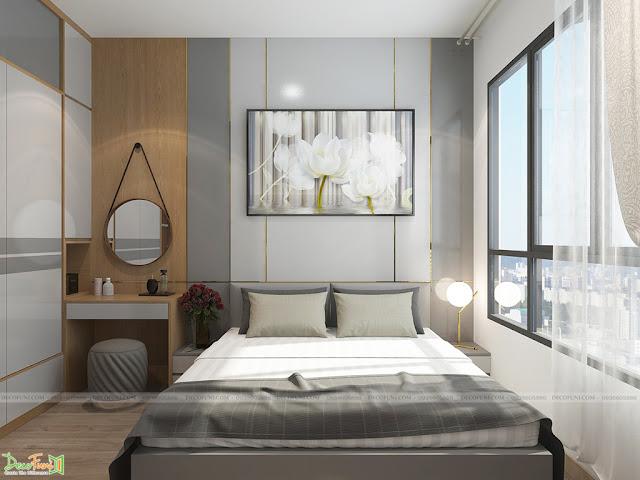 Thiết kế và thi công nội thất căn hộ chung cư Celadon City quận Tân Phú - Phòng Master