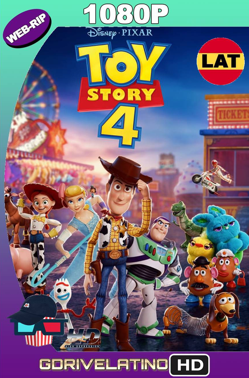 Toy Story 4 (2019) WEBRIP 1080p Latino-Ingles MKV