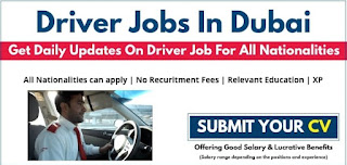 Light Vehicle Driver Required For Office in Dubai