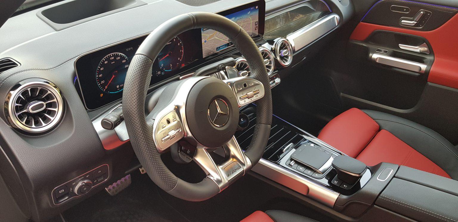 Mercedes-AMG GLP 35 4matic - cockpit