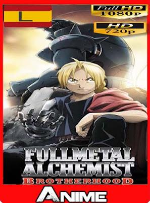Fullmetal Alchemist Brotherhood latino HD [720P] [1080P] [GoogleDrive] RijoHD