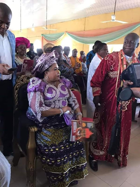 Patience Jonathan Looks Stunning As She Bags Royal Title Of ''Nneoma 1 Of Omuma''