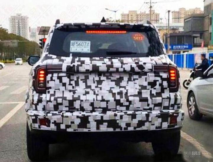 Haval H5 'nhái' Ford Bronco định ra mắt trước bản gốc