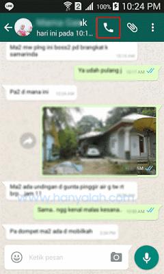 Cara melakukan Video Call WhatsApp di Android