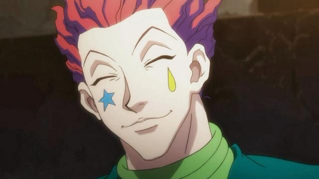 senyum palsu karakter anime