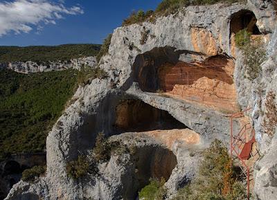 L'art rupestre de la sierra de Guara en Espagne