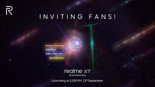 World's first 64MP camera smartphone launching on September 13