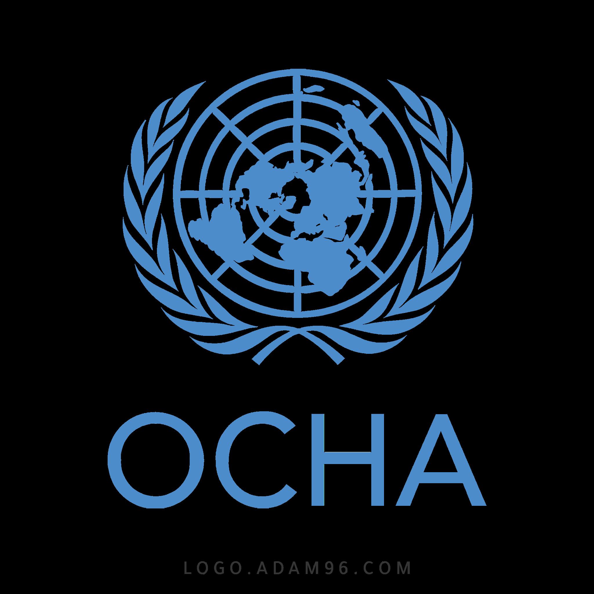 تحميل شعار مكتب الأمم المتحدة لتنسيق الشؤون الإنسانية لوجو رسمي LOGO OCHA PNG