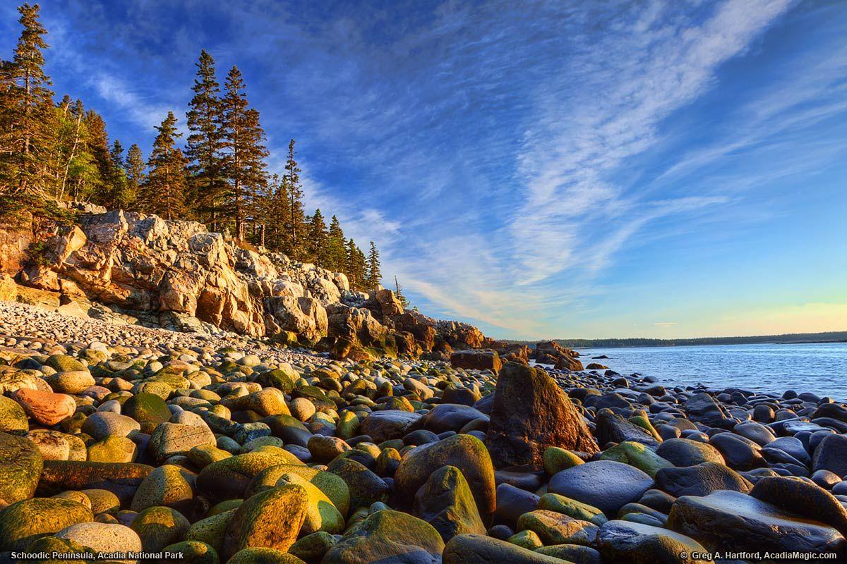 Acadia National Park at Schoodic Peninsula wallpapers