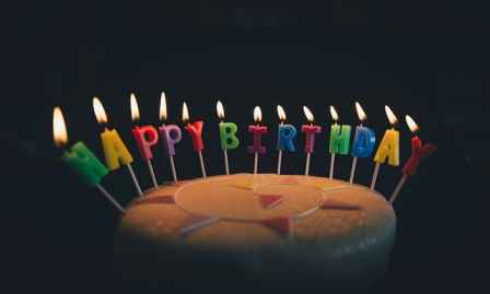 Happy birthday english status   wishing birthday status