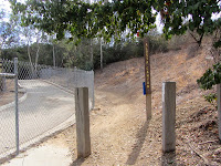 Alosta Canyon trailhead, South Hills Wilderness Park, Glendora