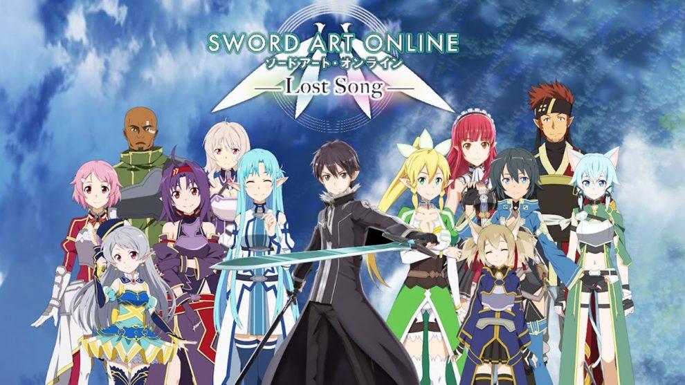 تحميل لعبة sword art online للكمبيوتر