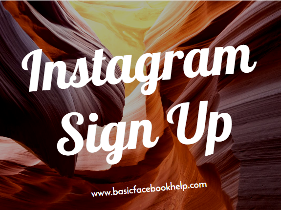 Instagram Sign Up