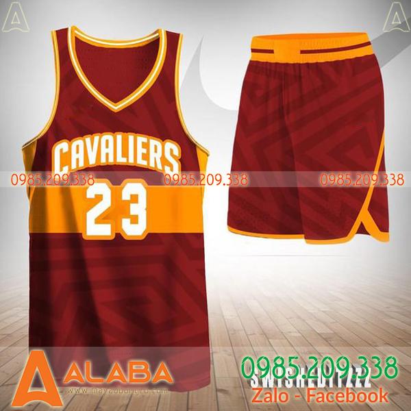 Quần áo bóng rổ đặt may giá tốt