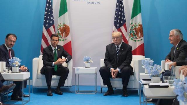 Trump amenaza con 'contacto cero' si México no paga el muro