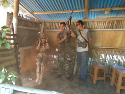 Pasukan Petarung Marinir TNI AL Berhasil Membebaskan Bupati Tetty