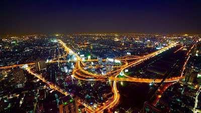 Gambar pemandangan kota HD