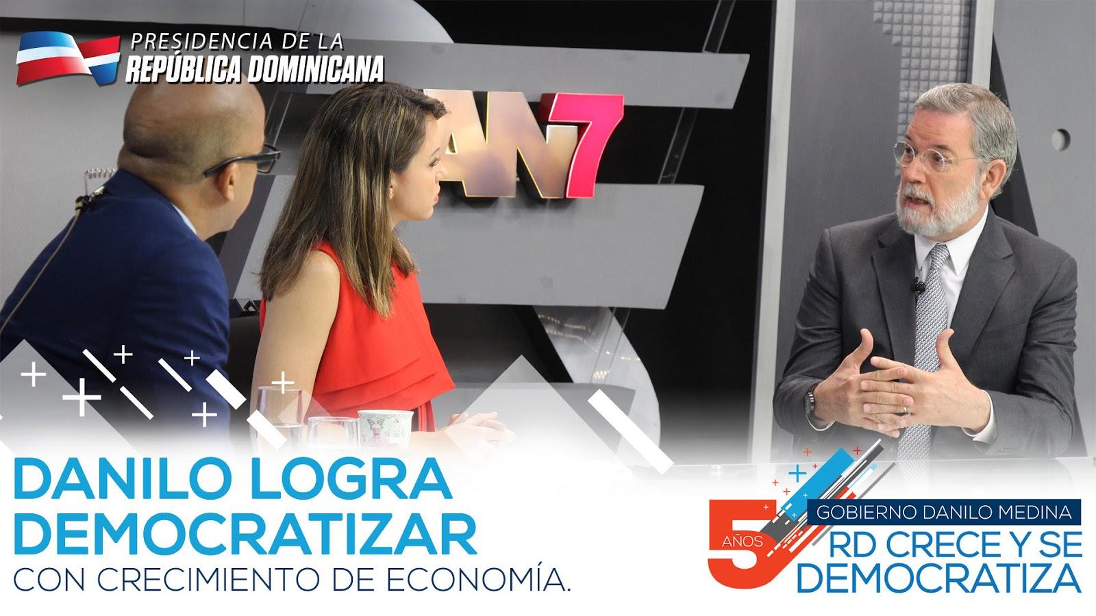 VIDEO: Danilo logra democratizar con crecimiento economía