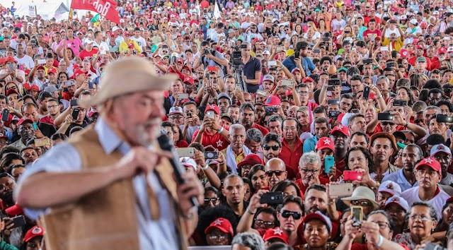 Lula conta com o apoio da maioria das Prefeituras em caravana no Ceará