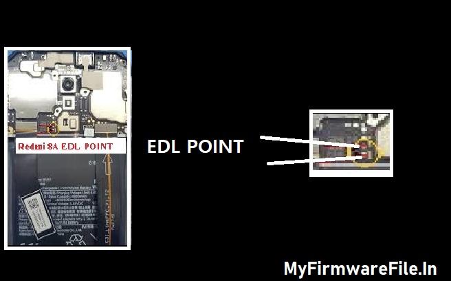 Redmi-8A-Edl-Point