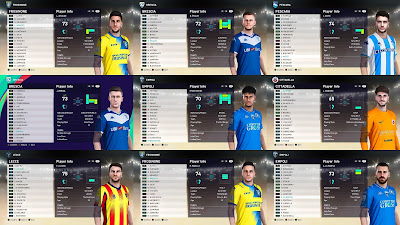 PES 2021 Facepack Serie B Vol 8