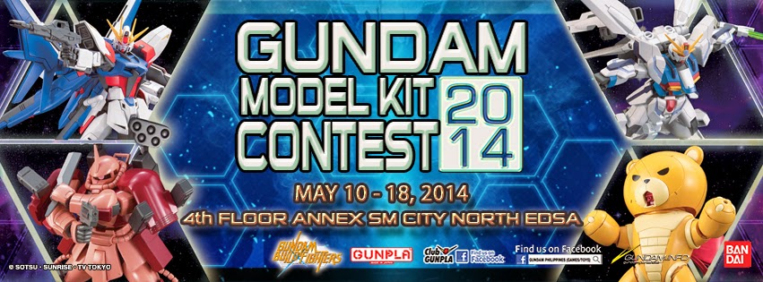 Gundam contest Philippines 2014 photo