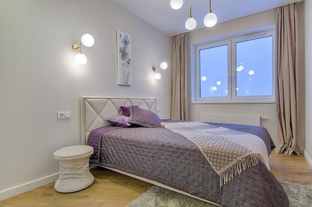 Interior Kamar Tidur Utama Minimalis Ukuran 4x4