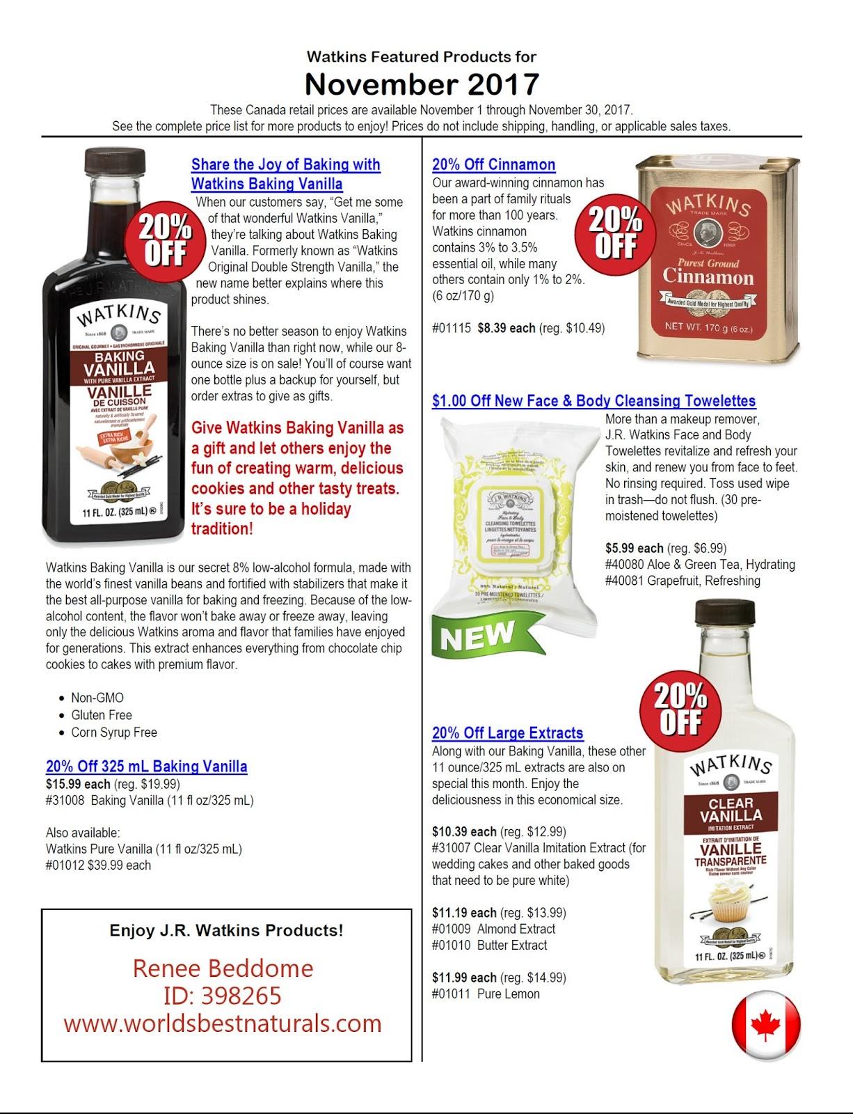 Buy Watkins Products Online - JR Watkins Manager - Renee