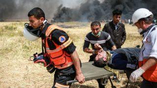 35 tewas dan ratusan korban di aksi protes perbatasan Israel