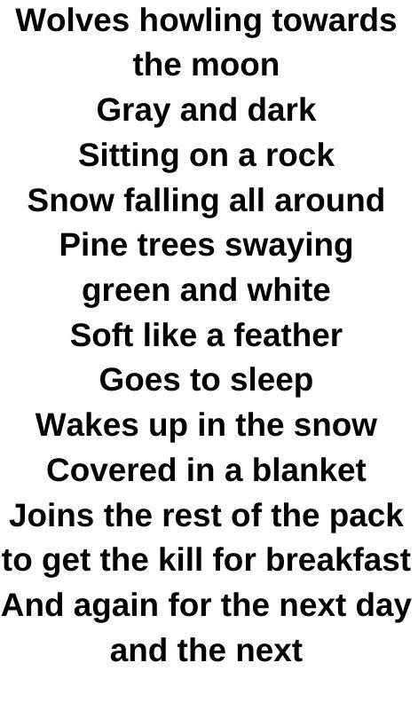 Sierra Marston Poem