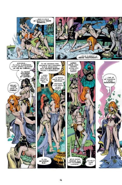 Les aventures originales de Red Sonja La diablesse à l'épée - Les années Marvel, Volume 1 éditions Graph Zeppelin Page 14