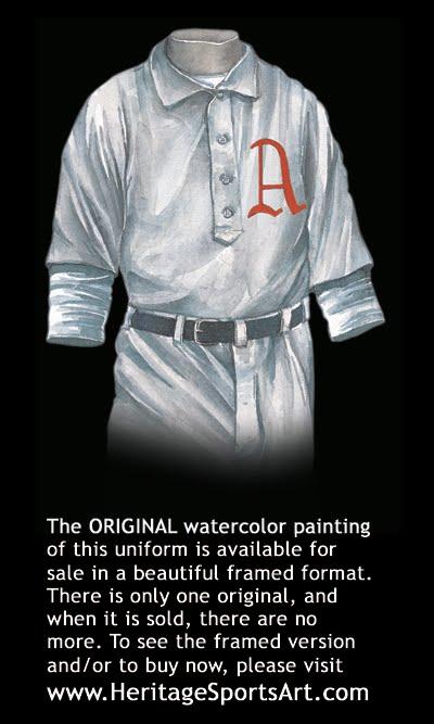 63115a4d3 Oakland Athletics Uniform and Team History