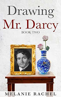 Book cover: Drawing Mr Darcy: A Faithful Portrait by Melanie Rachel