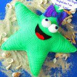 patron gratis estrella amigurumi | free amigurumi pattern star