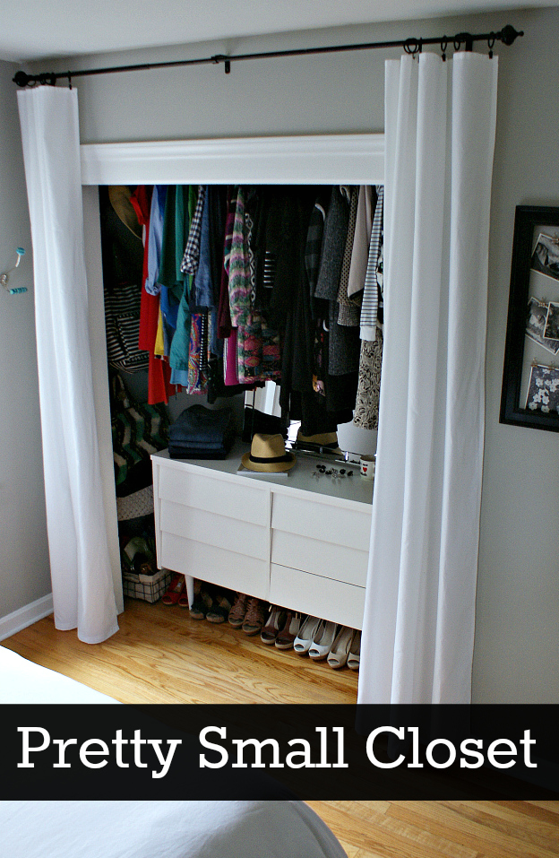 Fifty Two Weekends Of Diy Pretty Small Closet