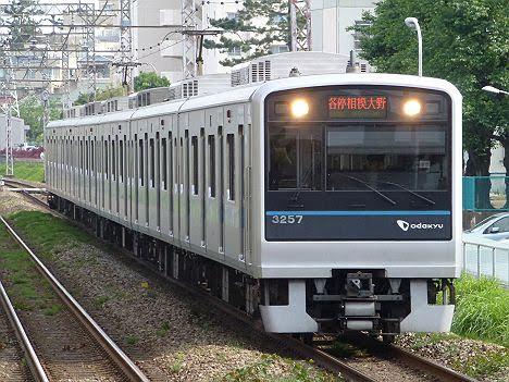 小田急電鉄 各停 相模大野行き3 3000形