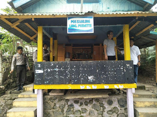 Sat Binmas Polres Enrekang Kunjungi Pos Kamling, Ini yg Disampaikan