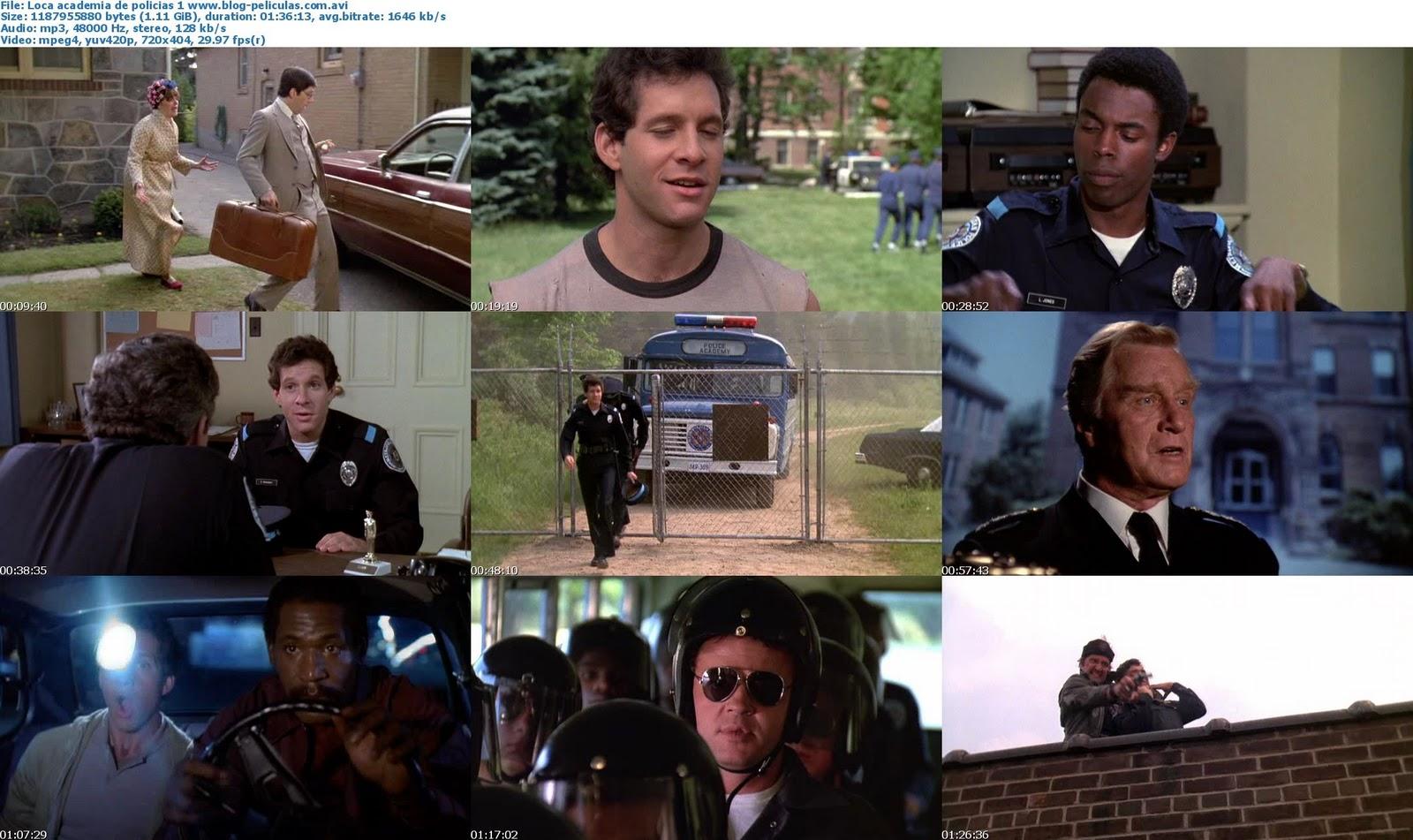 Resultado de imagen para Todas las películas de loca academia de policías
