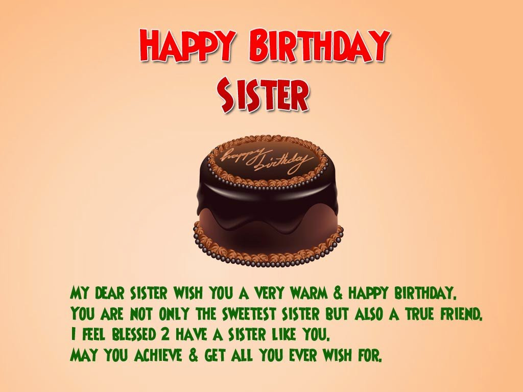 Top 200 Happy Birthday Wishes Quotes For Sister