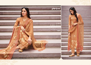 Jay Vijay Meria  Pashmina Suits Collection