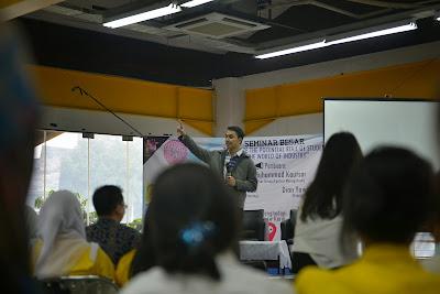 Trainer Motivasi MABA: Training Motivasi Ospek (Masa Orientasi) Mahasiswa bersama Motivator Edvan M Kautsar