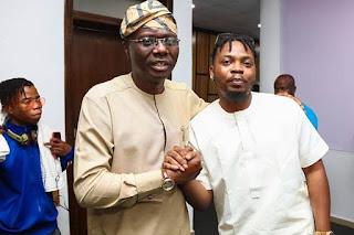 Sanwo-Olu and Olamide