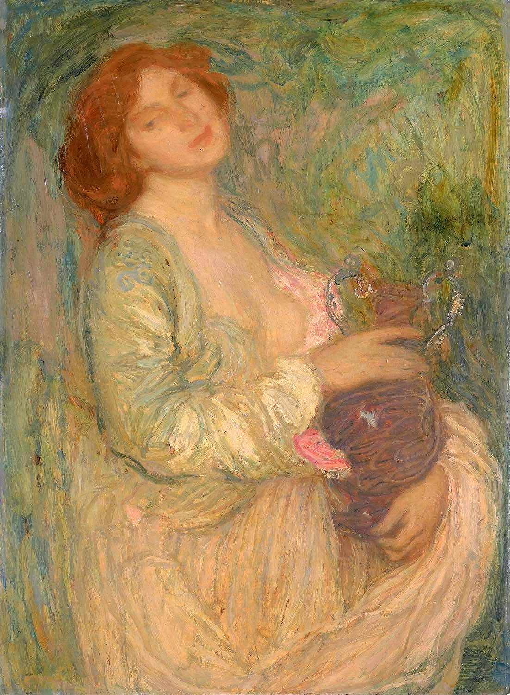 Edmond Aman-Jean (19th Century Painter)